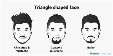 inverted triangle beard the best beard for every face shape business insider