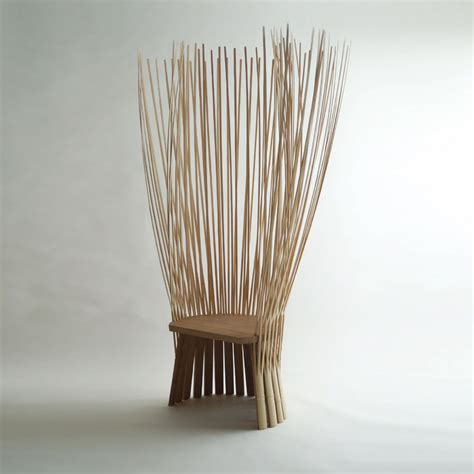 bamboo chairs as the traditional decoration theydesign hiroki takada tea ceremony chair