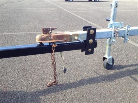 boat trailer tongue trailer toungue extension sailboatowners forums