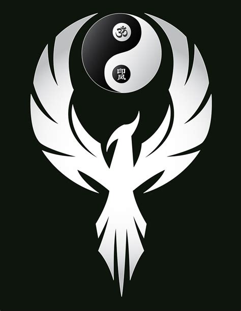 logo yin yang phoenix lynn schafer designs flickr
