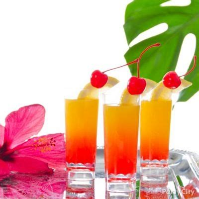 small cocktail ideas mini island shooter bottoms up