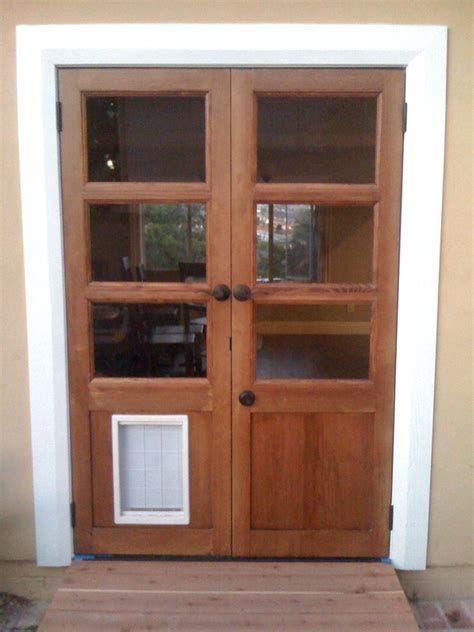 Doors With Doggie Doors In Them Door 15 Best Patio Doors Pet Doors For Patio Doors
