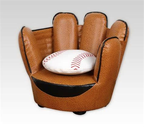 baseball chair and ottoman kids baseball chair chairs seating