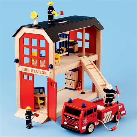 fire house dolls where s the fire cute firestation toys
