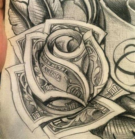 chicano rose tattoo moneyrose ideas chicano
