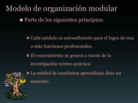 Modelo Curricular Margarita Pansza Margarita Pansza Ense 241 Anza Modular