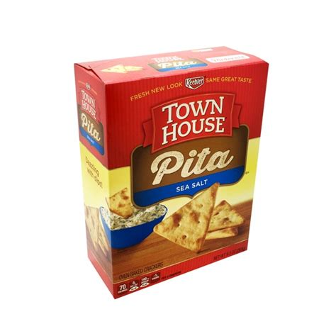 town house crackers townhouse flip sides pretzel crackers from h e b instacart