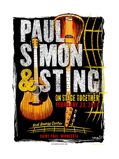 paul simon xcel curiocity xcel s mn made gift for paul simon sting