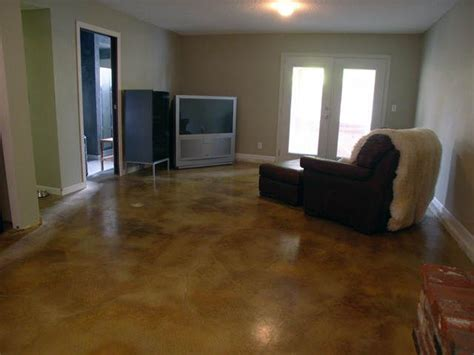 best flooring for basement concrete home decoration