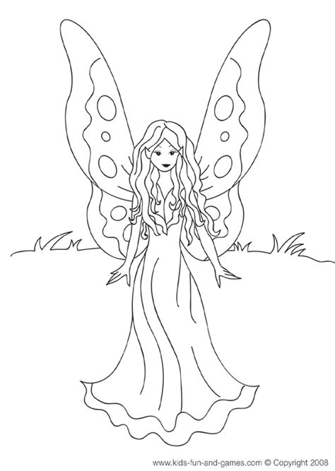 fairy coloring pages games fairy printables