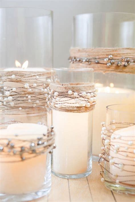beaded garland for candles diy archives oh best day