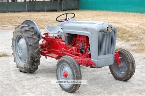 ford set setting points on ford 9n tractor