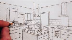 How To Draw A 3d Room how to draw a room in two point perspective time lapse