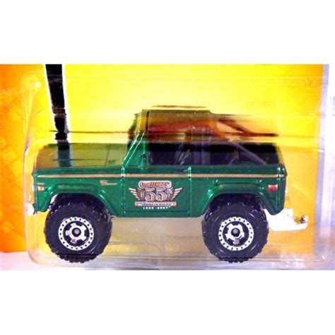 Matchbox Ford Bronco 4x4 matchbox 55th anniversary ford bronco 4x4 global