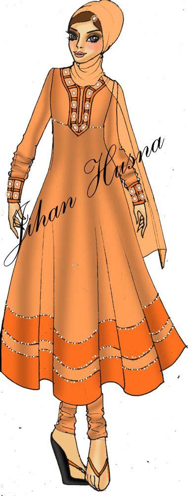 Gamis Muslim Jihan Dress desain busana pesta muslimah jihanhusna spesialis