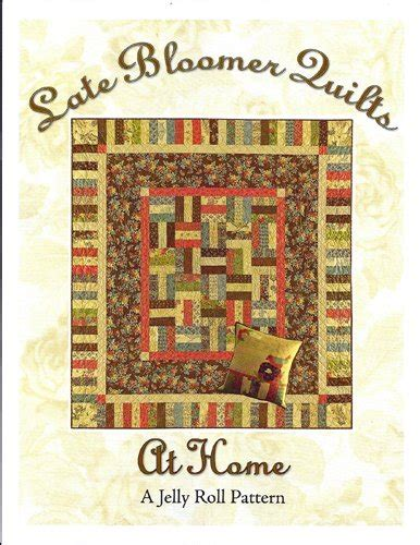 at home quilt pattern from late bloomer quilts