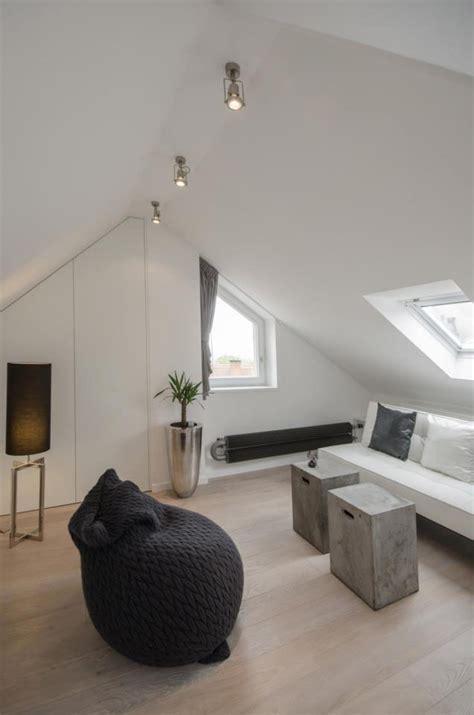 apartment design loft prague modern attic loft with grey palette in prague