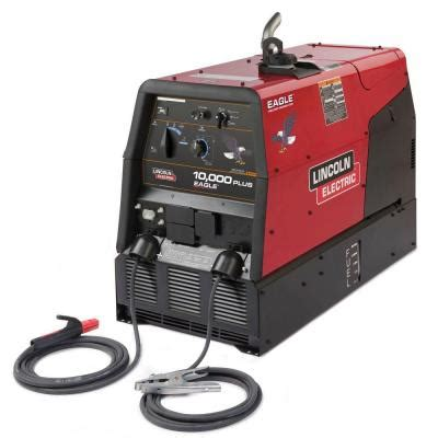 lincoln electric eagle 10 000 plus arc stick welder and