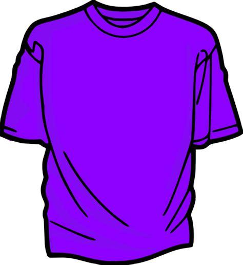 t shirt clipart t shirt purple clip at clker vector clip