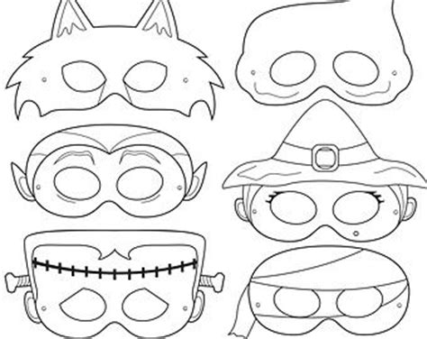free printable halloween masks to color best 25 haloween mask ideas on pinterest discount