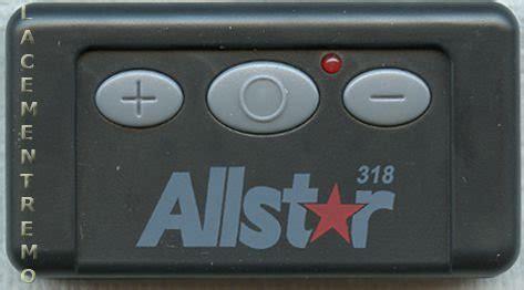 Buy All O Matic 110995 Quickcode 3 Button 318mhz Garage Matic Garage Door Opener