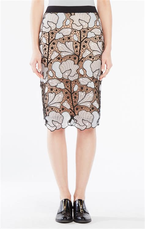 Embroidered Midi Skirt olly embroidered lace midi skirt