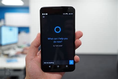 cortana for android quot hey cortana quot voice activation arrives on android