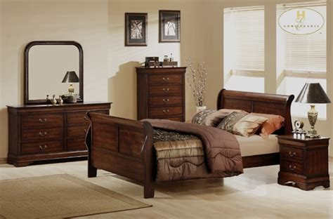 spokane traditional bedroom set with sleigh bed von