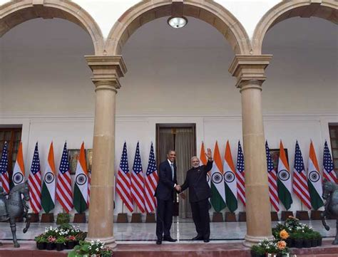hyderabad house president obama and pm modi meet at hyderabad house for bilateral talks photo gallery