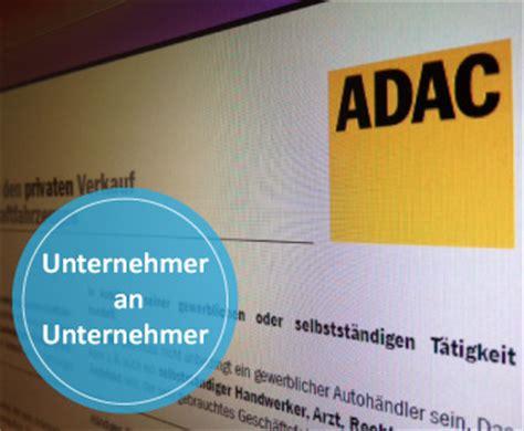 Adac Kaufvertrag Unternehmer An Privat by Pkw Autofreund24