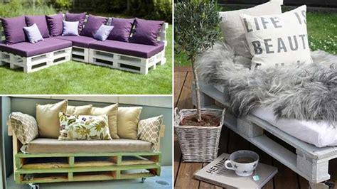divanetti fai da te realizzare divani fai da te in pallet di legno bcasa