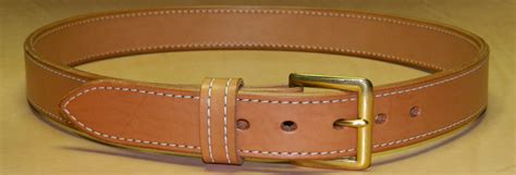 Handcrafted Leather Belt - ag custom leather gun belts 183 ccw belts made to order in