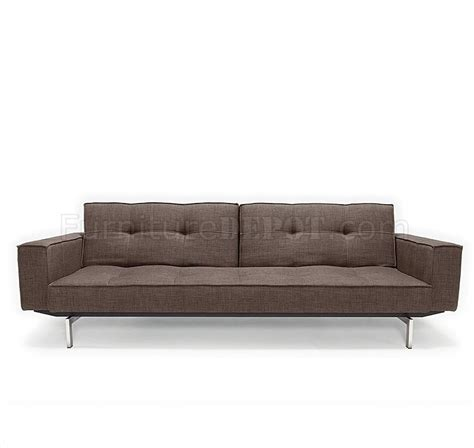 Splitback Sofa Bed Oz Deluxe Brown Sofa Bed By Innovation