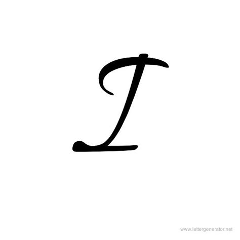 printable big cursive letters letter i cursive popflyboys