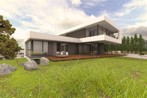 luxus stadtvilla neubau stadtvilla modernes design luxus architektur