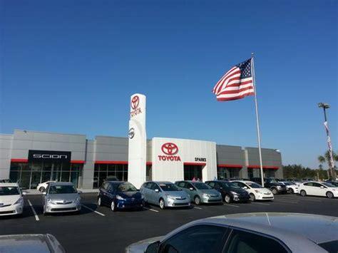 Sparks Toyota Sparks Toyota Car Dealership In Myrtle Sc 29579