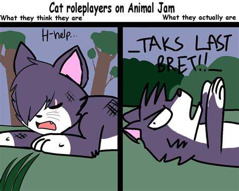 Jd 024 Jam And Friends Cat Roleplayers On Animal Jam By Nicoleminaj On Deviantart
