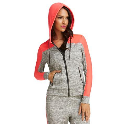 Matching Color Block Hoodie nicki minaj s colorblock zip up hoodie