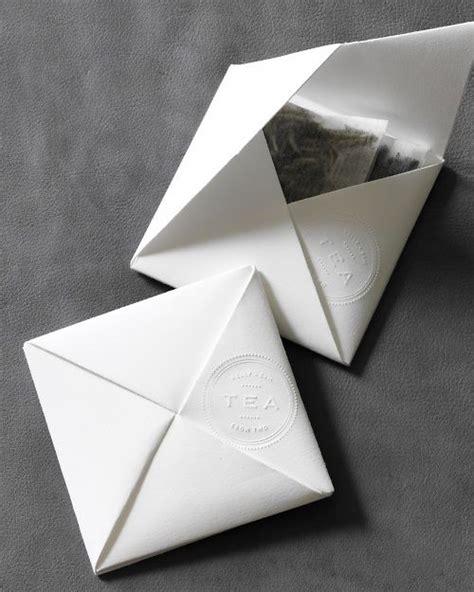 Origami Tea - origami tea envelope martha stewart weddings favors