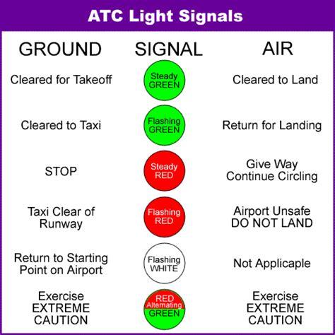 airport tower light signals aviation light gun signals aviation light signals atc