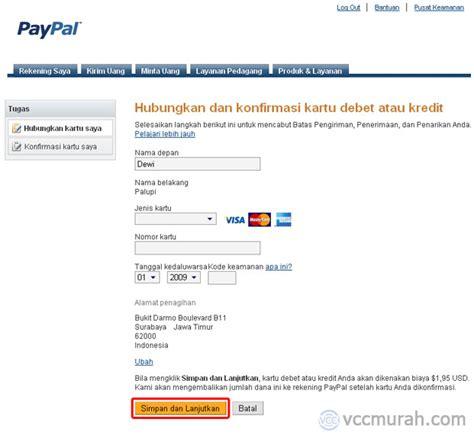 buat akun paypal dengan vcc cara verifikasi akun paypal dengan vcc 60menit com
