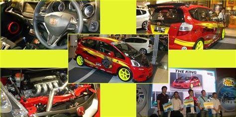Stiker Motor King 2005 Merah inilah foto mobil juara kontes honda jazz dan freed berita hari ini terbaru is