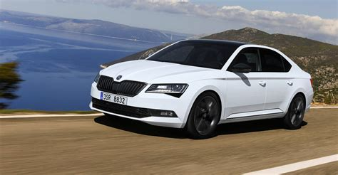 2017 skoda superb sportline new flagship here in february