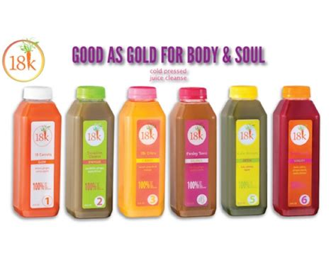 Juice Detox Deals by Deal 99 For 3 Day Juice Cleanse From 18karrots 199