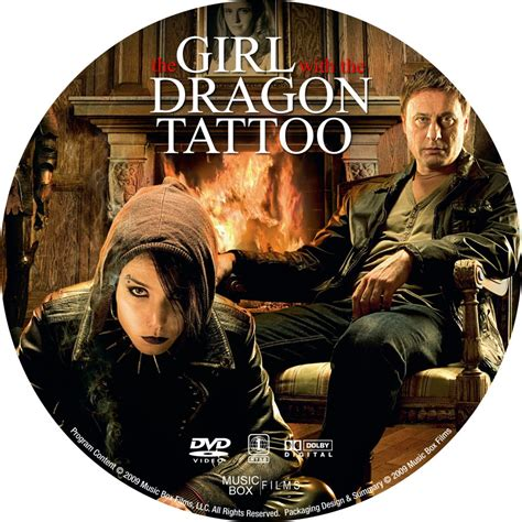 the girl with the dragon tattoo 2009 with the 2009 cd3 custom dvd labels