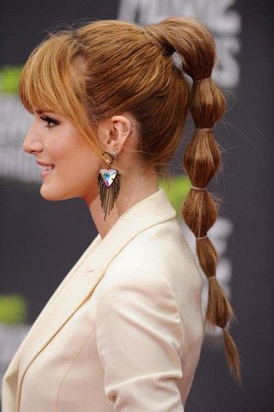 hair styles in two ponies bubble ponytail hairstyle fantastic hair style