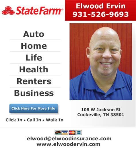walgreens white house tn elwood ervin state farm insurance agent in cookeville tn 931 526 9693