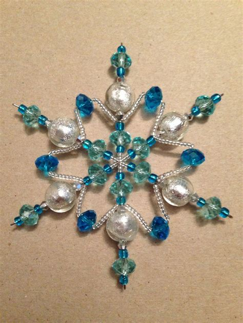 bead ornaments 17 best ideas about beaded snowflake on beaded