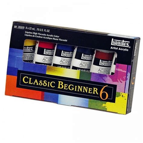 acrylic paint kits for beginners artist acrylics classic beginners set craftyarts co uk