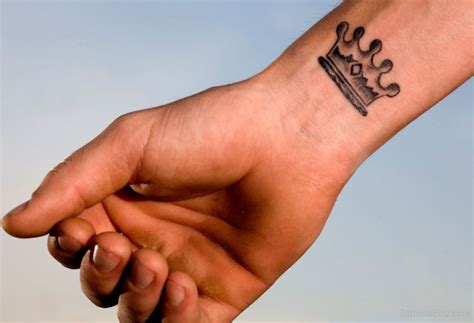 crown tattoo designs wrist wrist tattoos designs pictures page 6